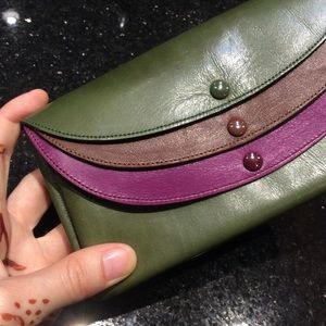 Italian Leather Triplet Wallet or Fanny Bag